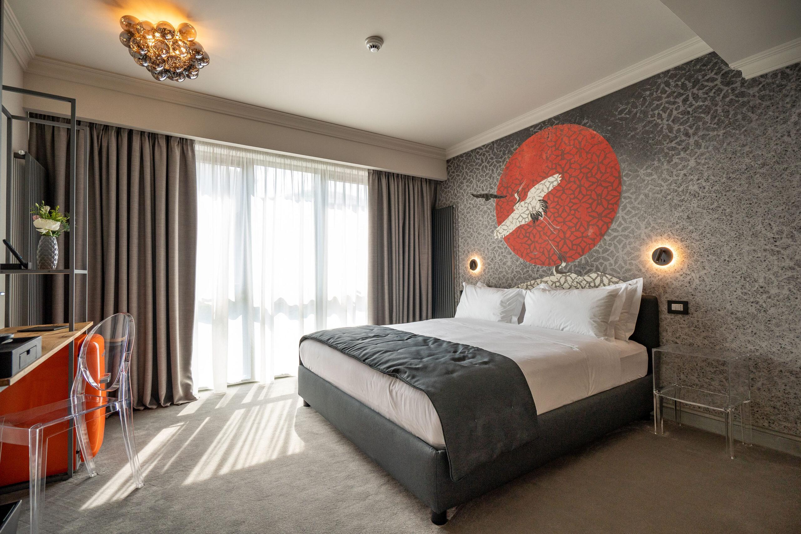 dormitor boutique hotel vilaopt cazare constanta